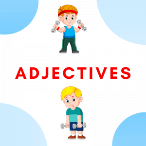 Adjectives Flashcards and Board Games