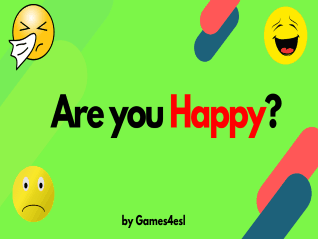 Feelings and Emotions ESL PPT