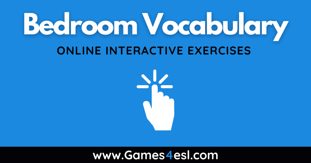 Bedroom - Vocabulary Exercises