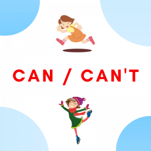 Can can't ESL Printable Materials