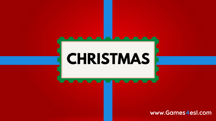 Christmas PowerPoint