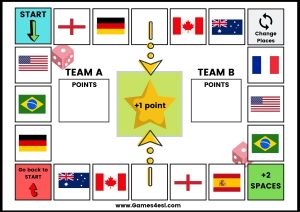 ESL Board Game - Countries