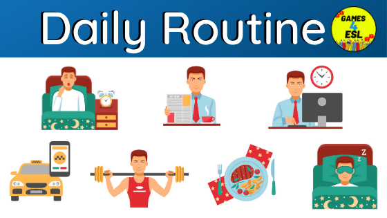 Daily Routine Examples | Useful List of Daily Routine Words With Pictures
