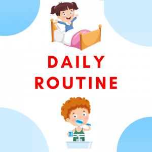 Daily Routine ESL Printables