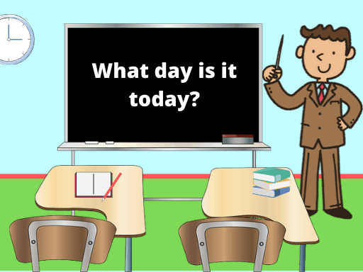 ESL Lesson Plan - Days of the week