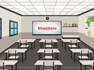 Directions Classroom Activity