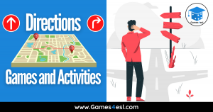 Directions Games   6 Fun Activities About Giving Directions In English