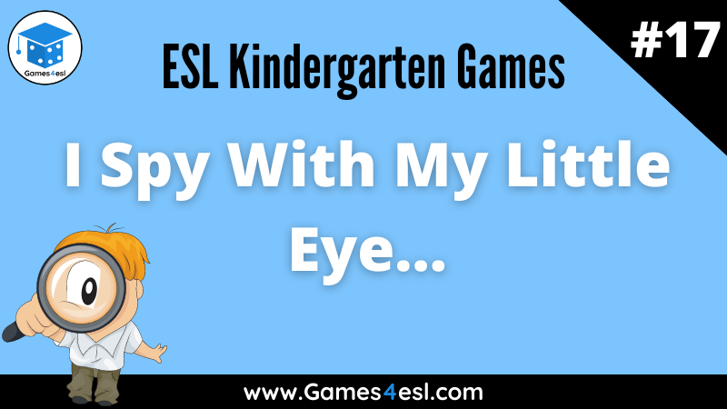 ESL Kindergarten Games