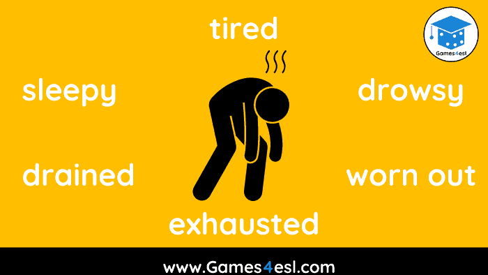 tired synonyms