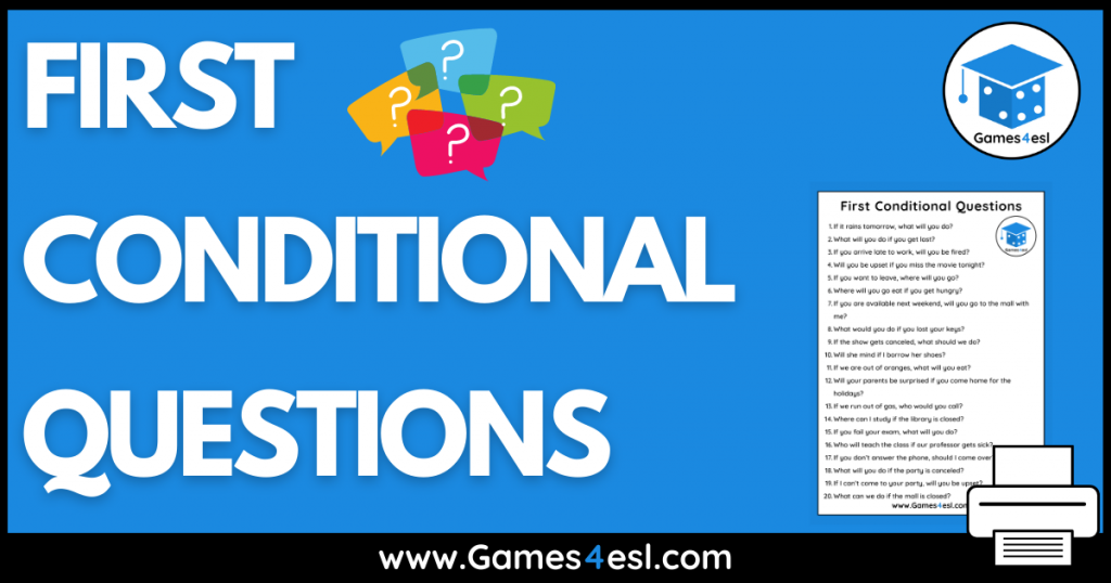 First Conditional Questions
