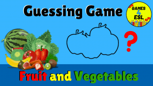 Fruit and Vegetables Guessing Game