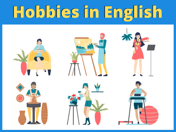 List Of Hobbies In English