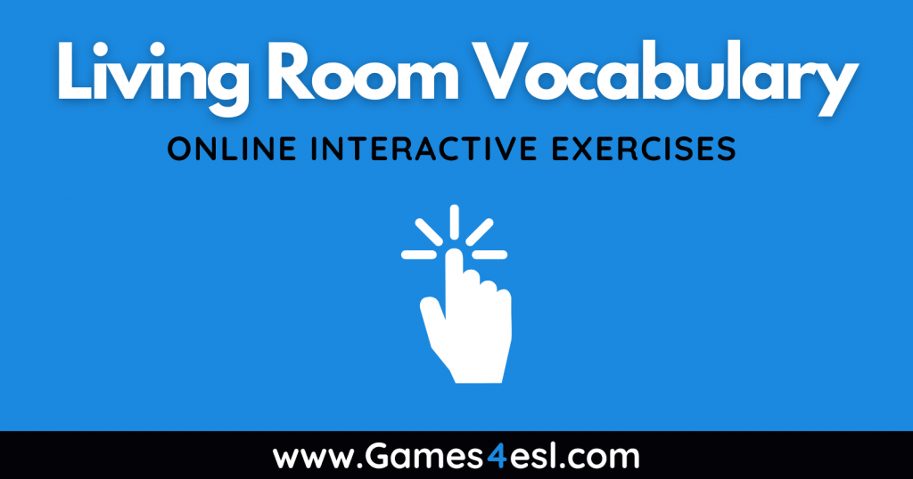 Living Room Vocabulary Exercises