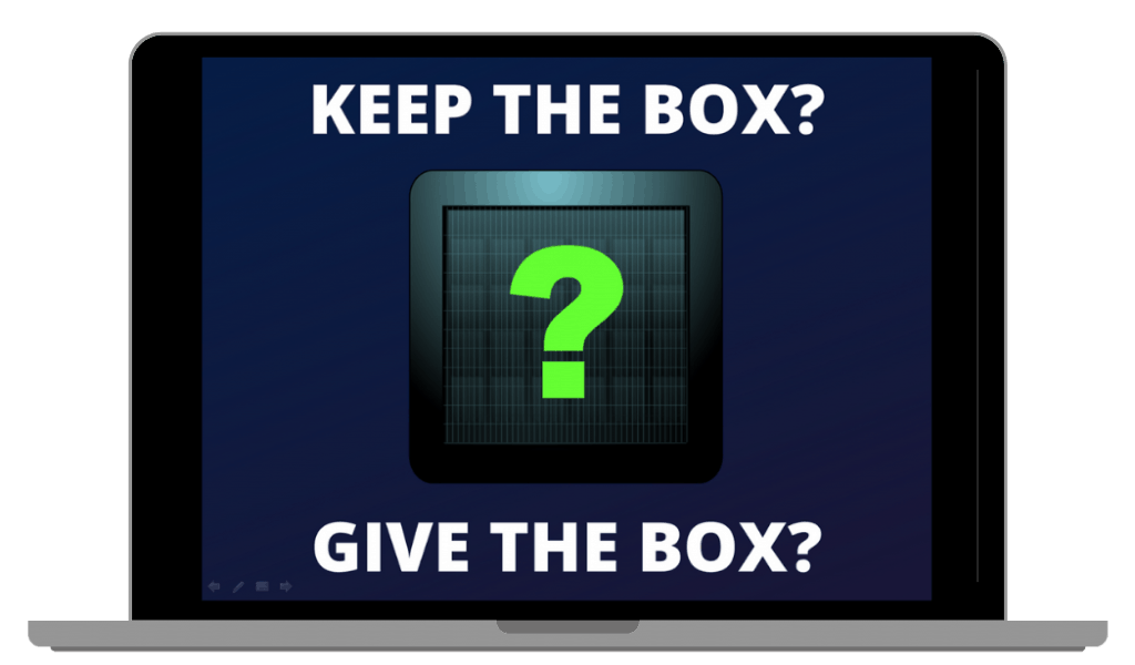 Mystery Box Game PowerPoint