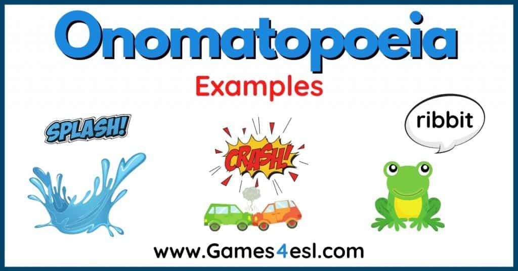 Onomatopoeia Examples
