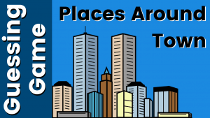 ESL Vocabulary Game - Place and Buildings
