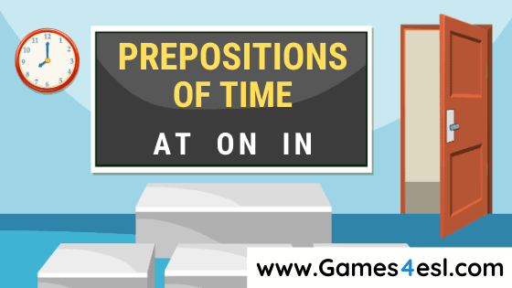 Prepositions Of Time Lesson Plan