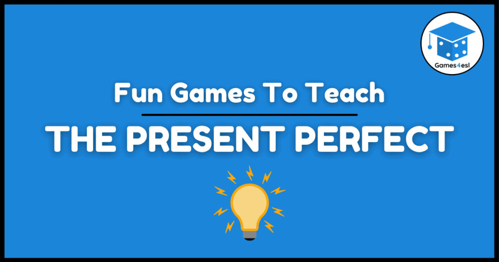 Present Perfect Tense Games