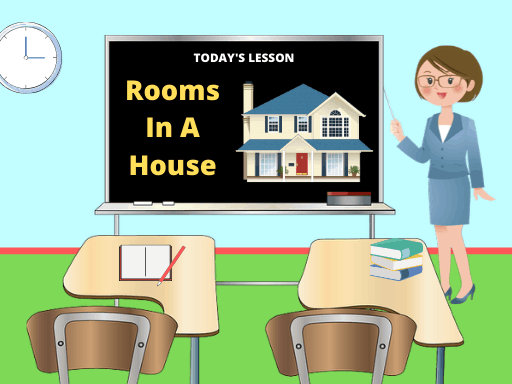 ESL Lesson Plan - Rooms In a House