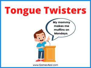 Simple Tongue Twisters For Kids