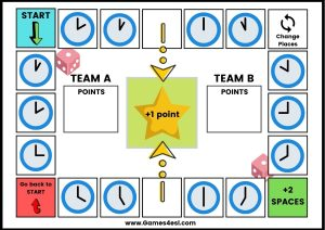 ESL Board Game -What's the time?