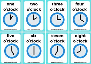 Small Flashcards - Time