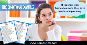 Zero Conditional Example Sentences And Questions