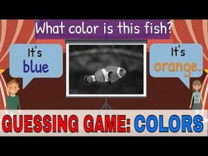 ESL GAME - WHAT COLOR IS IT