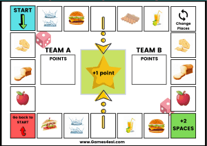 Countable and Uncountable nouns game