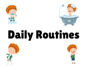 Daily Routines ESL PowerPoint