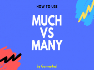 Quantifiers Many and Much PowerPoint Lesson