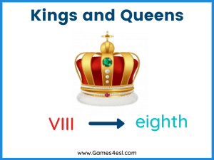 Ordinal Numbers Examples