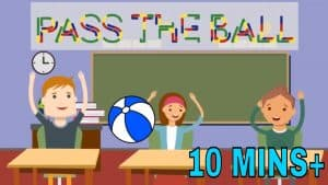 Pass the Ball Game | Super Fun Classroom Activity For Kids