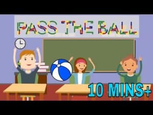 CLASSROOM GAME - PASS THE BALL